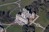 Wollaton Hall from the air.