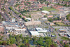 Daybrook in Nottingham from the air.
