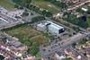 Aerial photo of The Atos Building.