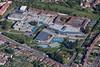An aerial photo of Carlton Arena in Carlton, Nottingham.