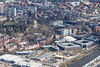Aerial photo of Nottingham tax office, Inland revenue headquarters.