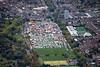 Aerial photo of Goose Fair.