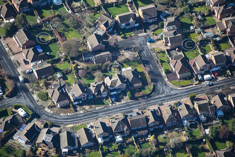 Aerial photo of Wollaton.