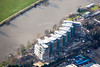 River Crescent in Nottingham from the air.