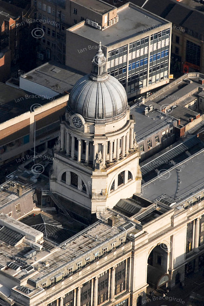 The Council House from the air.