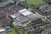 Aerial photo of Oakham.