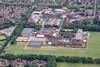 Aerial photo of Werrington in Peterborough.