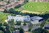 Aerial photo of the Thomas Deacon Academy.