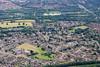 Aerial photo of Longthorpe.