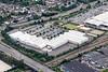 Aerial photo of Boulevard retail Park.