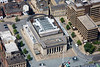 Sheffield City Hall from the air.