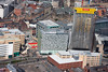 An aerial photo of St Paul's Tower, Sheffield