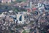 Aerial photo of The Royal Hallamshire Hospital, Sheffield.