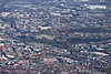 An aerial photo of Sheffield City centre in South Yorkshire.