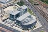 Aerial photo of Sheffield's Digital Campus.