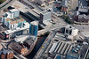 Aerial photo of The Iquarter, Sheffield.