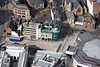 Aerial photo of Tudor Square, Sheffield.