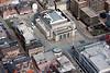 Aerial photo of City Hall, Sheffield.