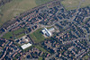 Aerial photo of Sleaford in Lincolnshire.