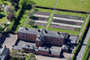 Aerial photo of Southwell Workhouse.