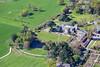 Aerial photo of Brackenhurst College.