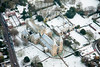 Southwell Minster aerial photo.