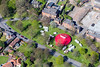 A circus in Southwell from the air.