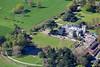 Aerial photo of Brackenhurst College in Southwell.