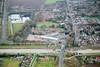 Aerial photo of Sutton Bridge in Lincolnshire.
