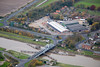 Aerial photo of Sutton Bridge in Lincolnshire.