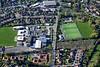 Aerial photo of Huntington School.