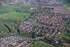 Aerial photo of Earswick.