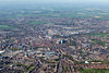 An aerial photo of York.