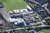 Aerial photo of Huntington School.