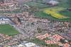 Aerial photo of Huntington, York.