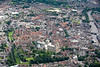 York from the air.