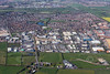 Aerial photo of Clifton Moor, York.