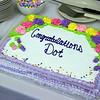 """Cake made up for Dorothy """"Dot"""" Manceau, in celebration of her being awarded the Boston Post Cane, the Townsend resident will turn 99 on May 20th. Nashoba Valley Voice Photo by David H. Brow."""