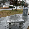 The Town of Townsend celebrated the renovations done to their Veterans Memorial on the Upper Common Friday, Nov. 22, 2019. A view of the area and the memorial. SENTINEL & ENTERPRISE/JOHN LOVE
