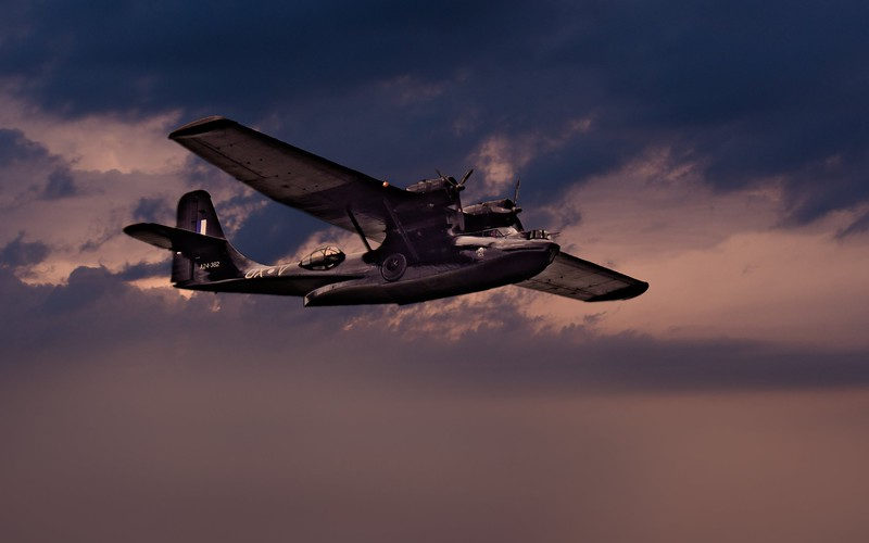 """""""Felix, Consolidated PBY Catalina""""  2/3."""