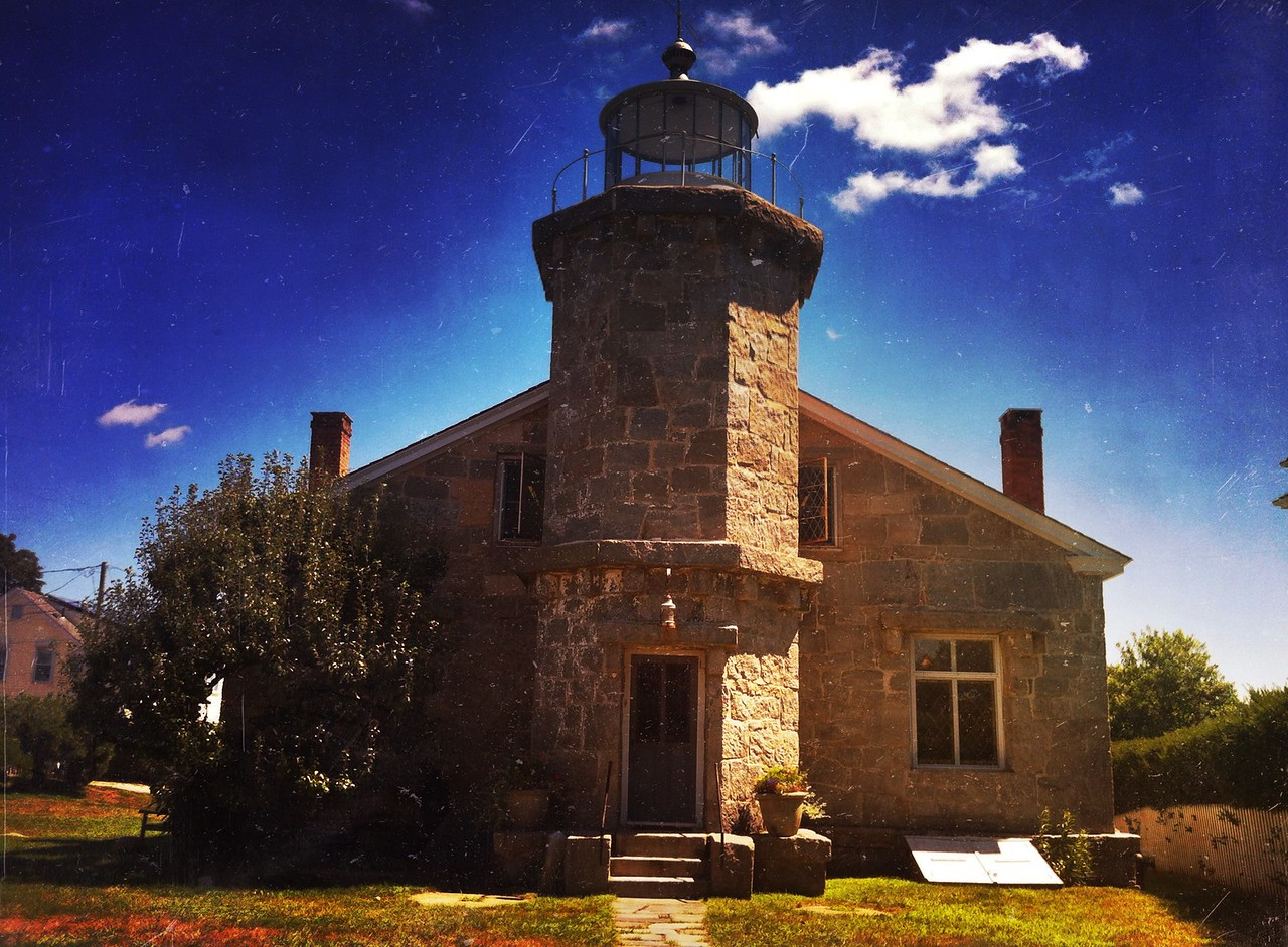 Lighthouse, Stonington CT.<br /> <br /> iPhoneography