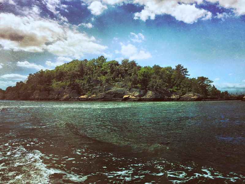 Kidd's Island, Thimble Islands CT.<br /> <br /> iPhoneography