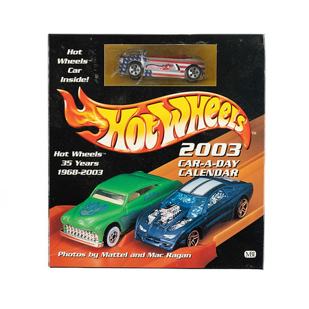2003 Car-A-Day Calendar