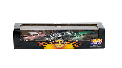 Cars of The Hard Rock Cafe Car Set