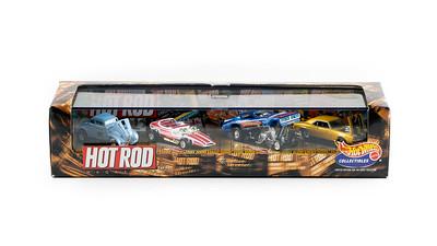 Hot Rod Magazine Car Set