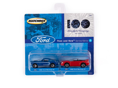 1968 and 1999 Ford Mustang GT