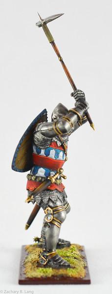 6349 Knight in Battle w- Battle Hammer - protoype 2