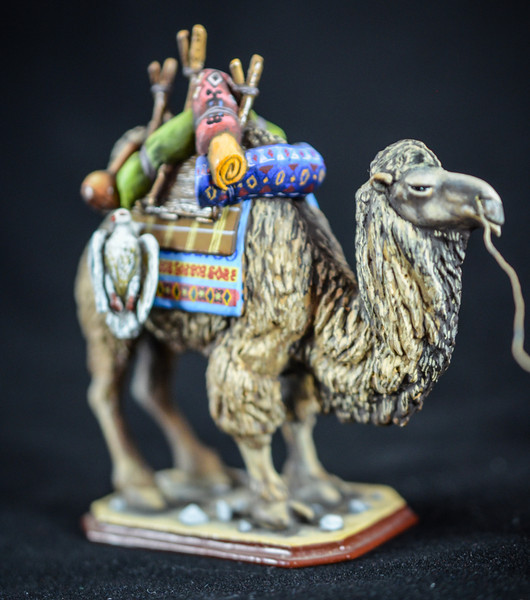 Mongol Warrior w- Supply Camel 2