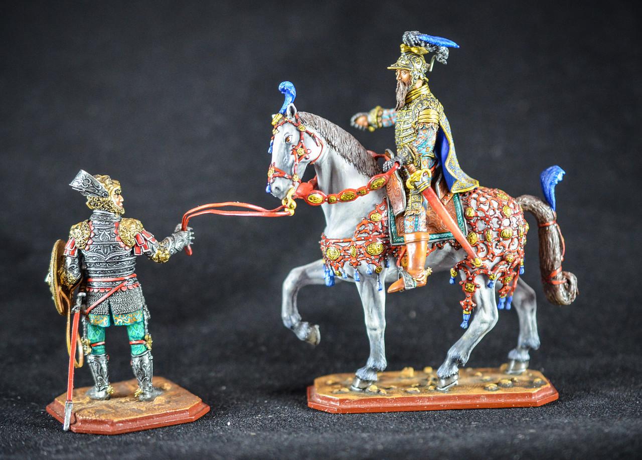 Duke Ferdinand, Austrian Regent 16th Cent w- Knight in Armor 1