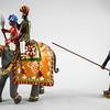The Maharaja of Rewa's Baby Elephant, Delhi Durbar 1903-Beau Geste-BG114